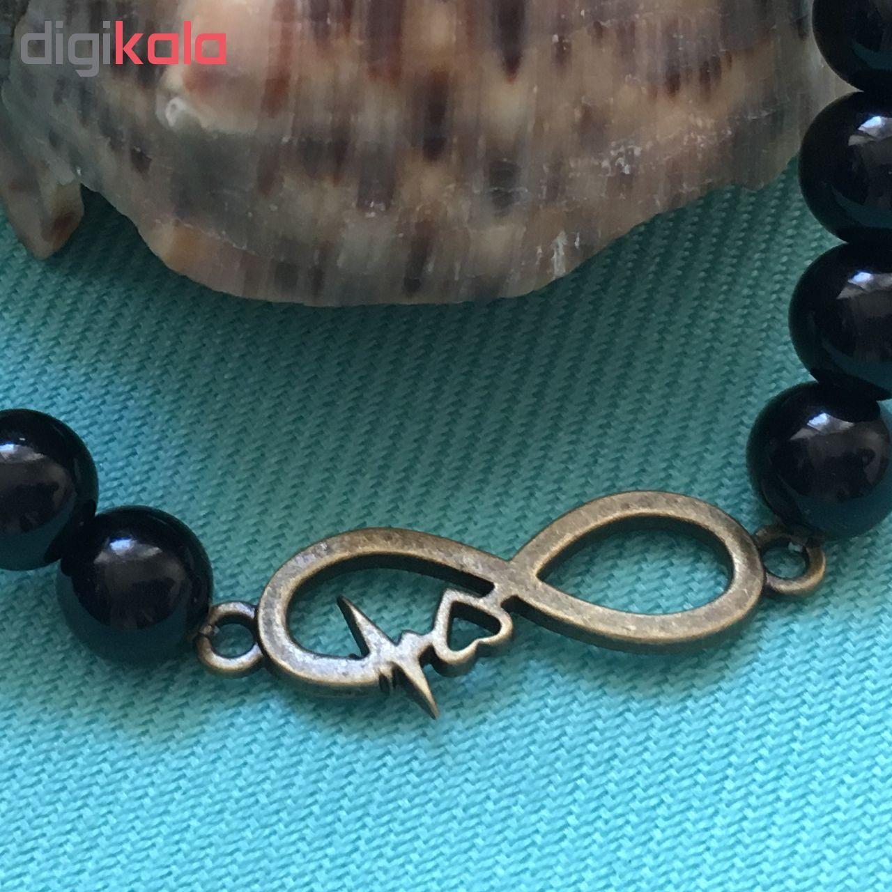 دستبند طرح بینهایت کد BE01 مجموعه 2 عددی main 1 2