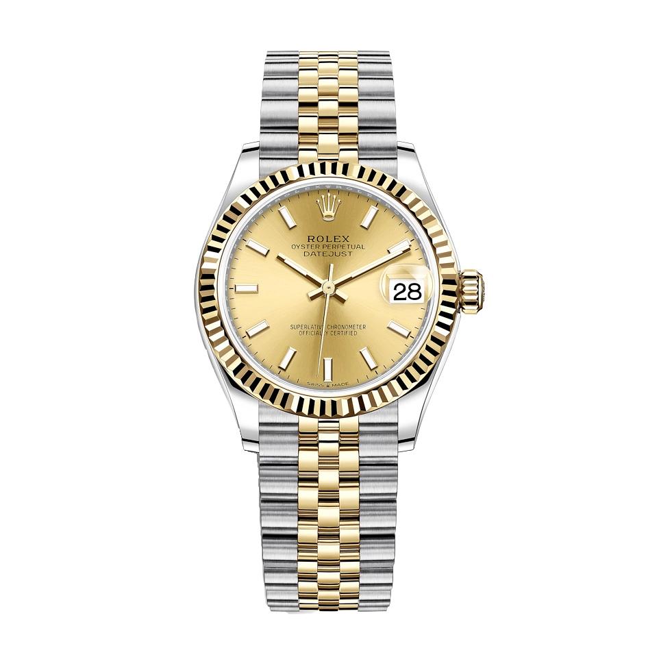 ساعت مچی عقربه ای زنانه مدل دیت جاست کد HC2014