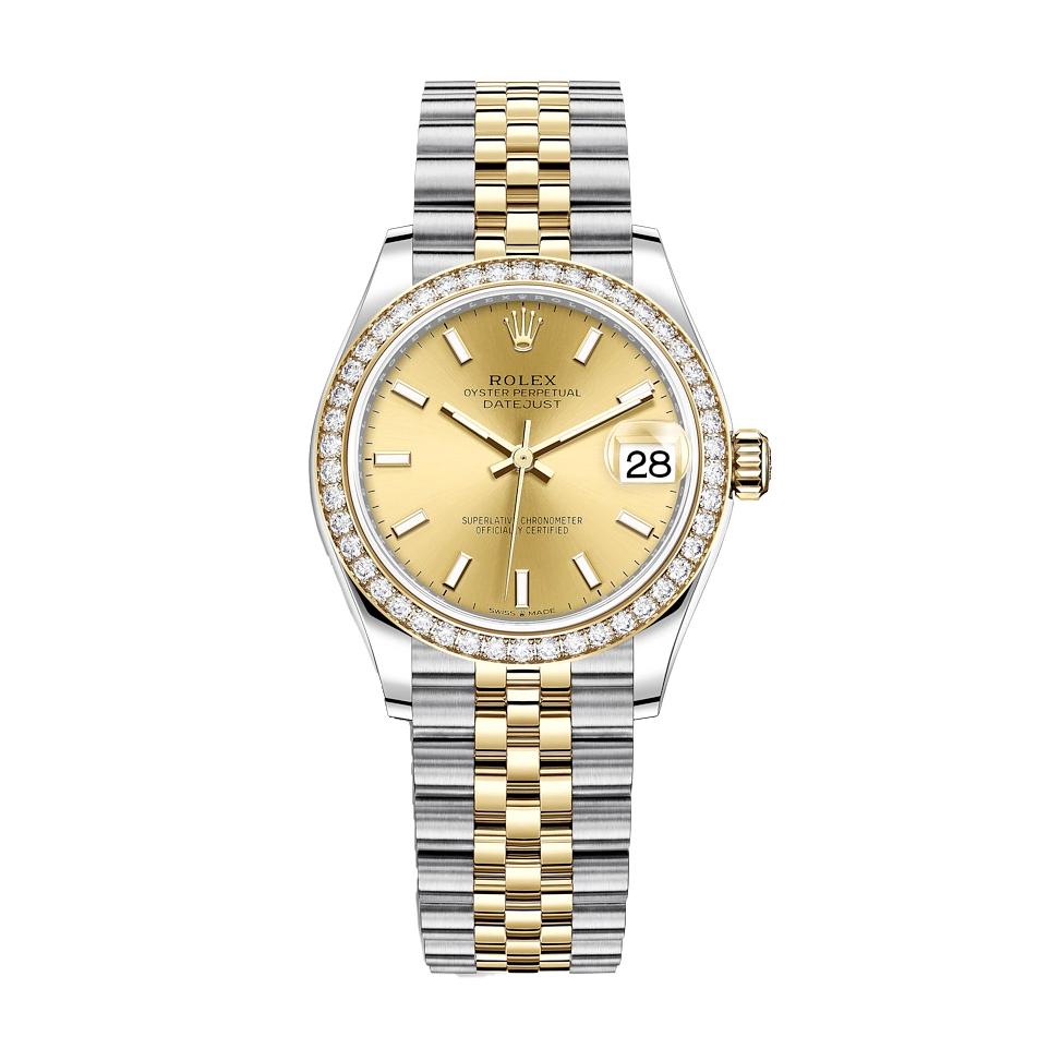 ساعت مچی عقربه ای زنانه مدل دیت جاست کد HC2015