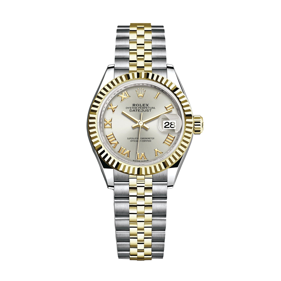 ساعت مچی عقربه ای زنانه مدل دیت جاست کد HC2022