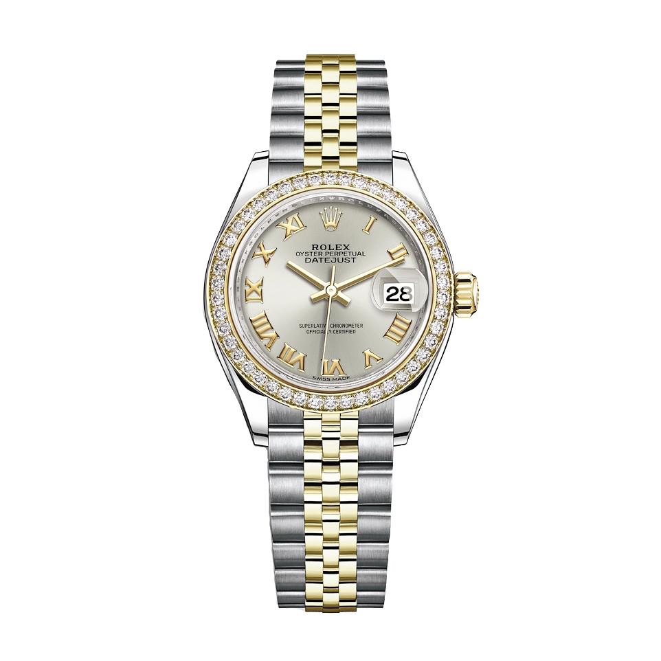ساعت مچی عقربه ای زنانه مدل دیت جاست کد H2023