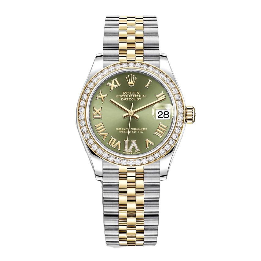 ساعت مچی عقربه ای زنانه مدل دیت جاست کد HC2027