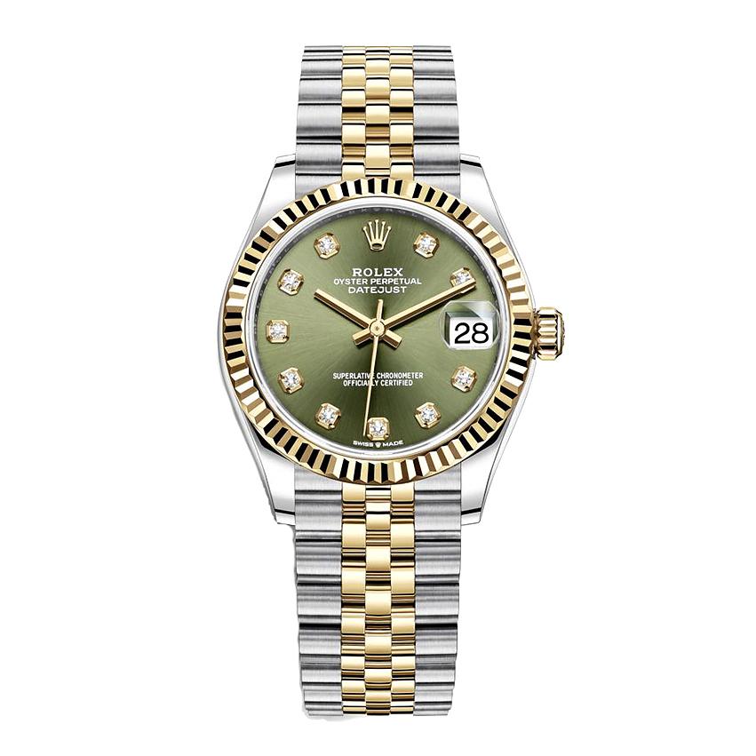 ساعت مچی عقربه ای زنانه مدل دیت جاست کد HC2030