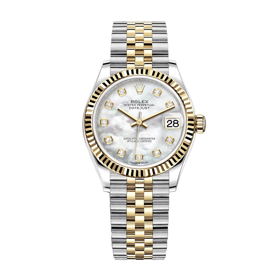 ساعت زنانه برند مدل دیت جاست کد HC2031