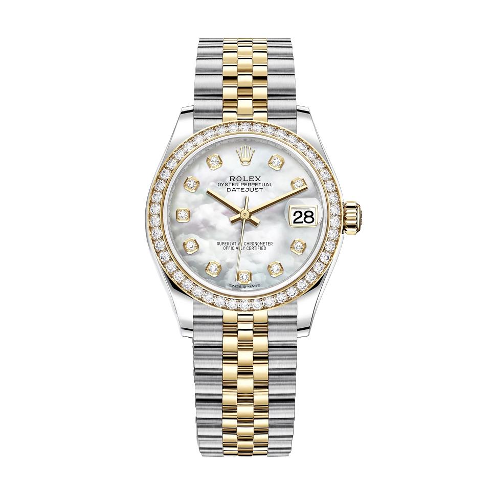 ساعت مچی عقربه ای زنانه مدل دیت جاست کد HC2032