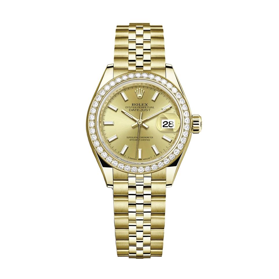 ساعت زنانه برند مدل دیت جاست کد HC2036