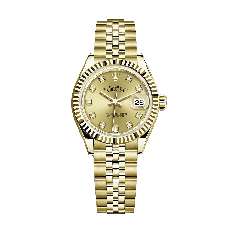 ساعت مچی عقربه ای زنانه مدل دیت جاست کد HC2037