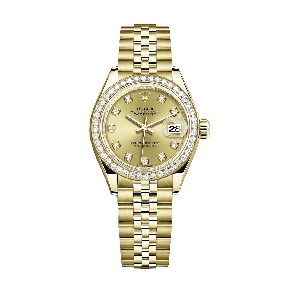 ساعت مچی عقربه ای زنانه مدل دیت جاست کد HC2038