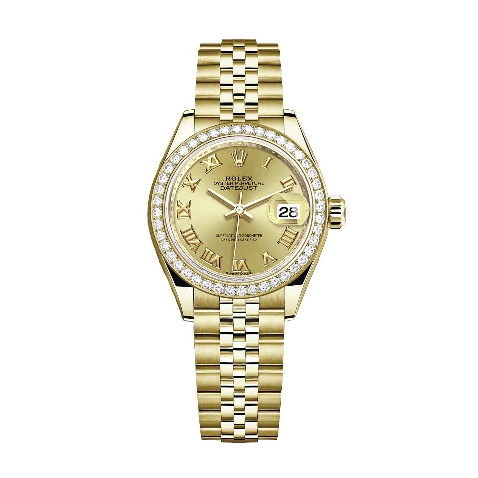 ساعت مچی عقربه ای زنانه مدل دیت جاست کد HC2040