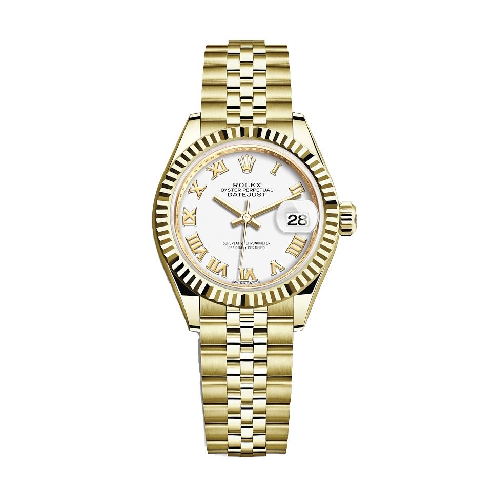 ساعت مچی عقربه ای زنانه مدل دیت جاست کد HC2041