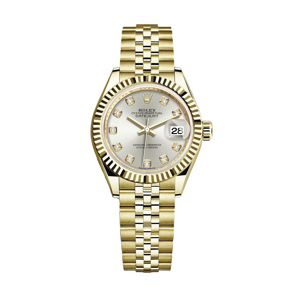 ساعت زنانه برند مدل دیت جاست کد HC2043