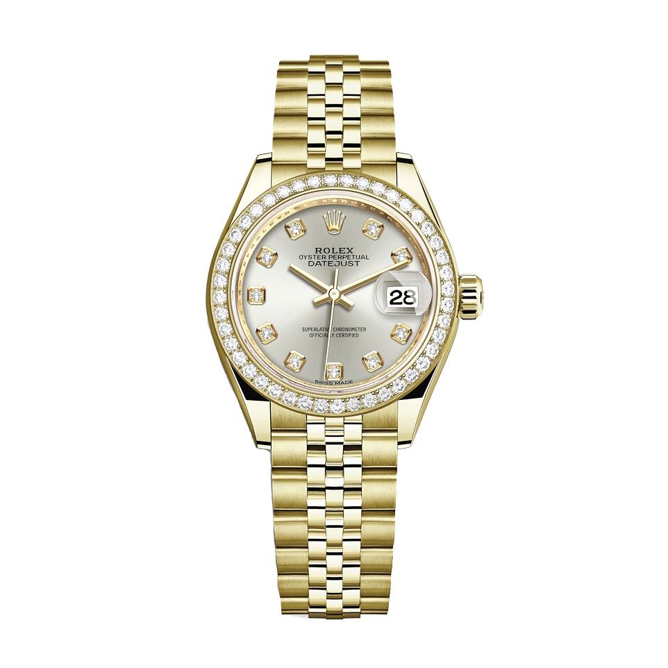 ساعت مچی عقربه ای زنانه مدل دیت جاست کد HC2044