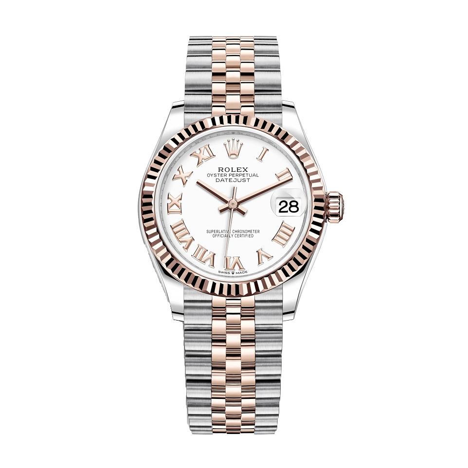 ساعت مچی عقربه ای زنانه مدل دیت جاست کد HC2051
