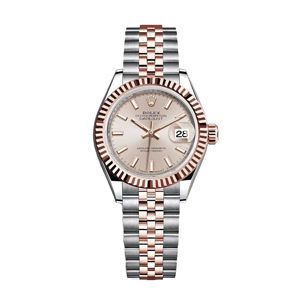 ساعت زنانه برند مدل دیت جاست کد HC2057