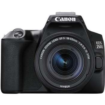 دوربین دیجیتال کانن مدل EOS 250D به همراه لنز 55-18 میلی متر IS STM