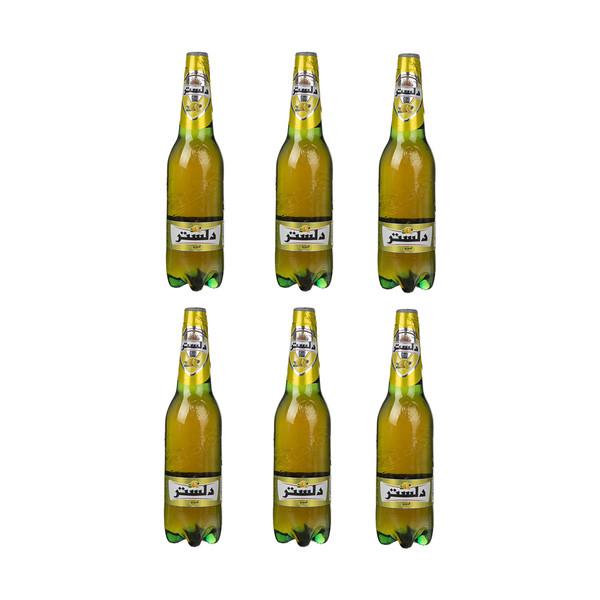 نوشیدنی گازدار لیمویی دلستر - 1 لیتر بسته 6 عددی