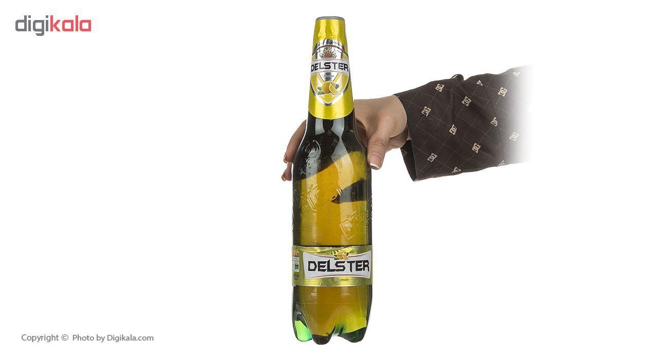 نوشیدنی گازدار لیمویی دلستر حجم 1 لیتر بسته 6 عددی main 1 5