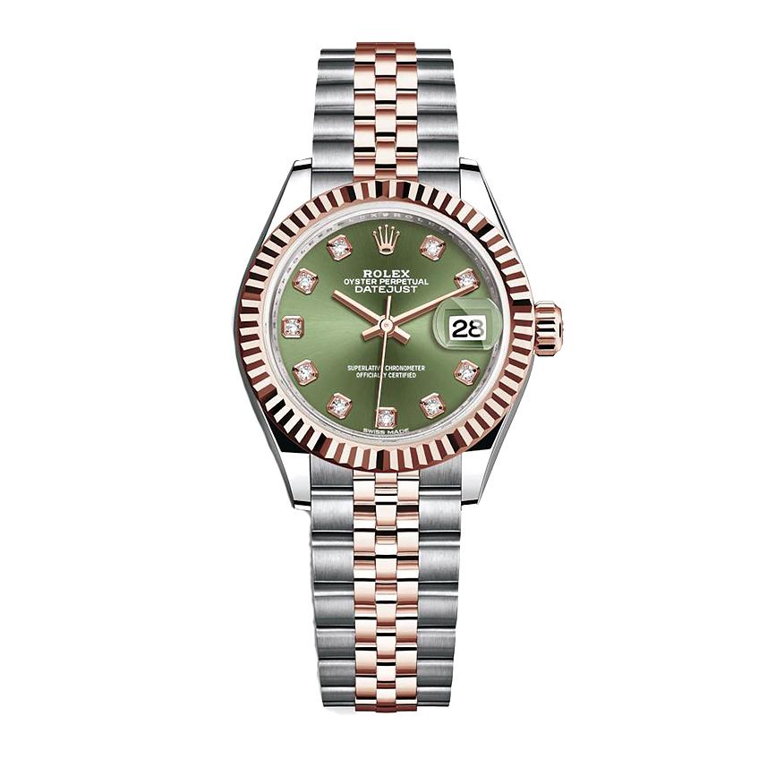 ساعت مچی عقربه ای زنانه مدل دیت جاست کد HC2064