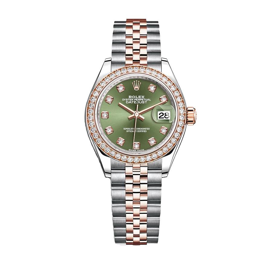 ساعت مچی عقربه ای زنانه مدل دیت جاست کد HC2065