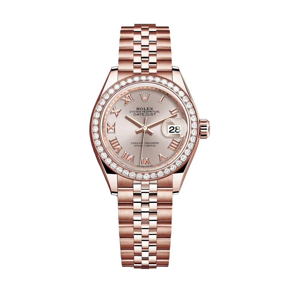 ساعت مچی عقربه ای زنانه مدل دیت جاست کد HC2069