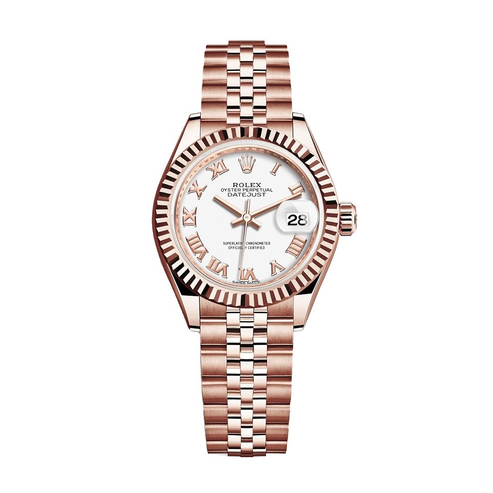 ساعت مچی عقربه ای زنانه مدل دیت جاست کد HC2070