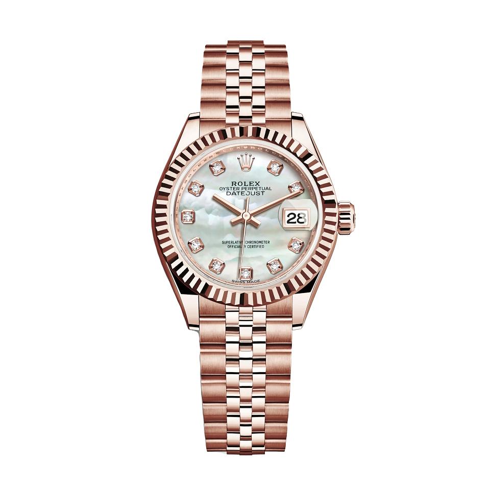 ساعت مچی عقربه ای زنانه مدل دیت جاست کد HC2072
