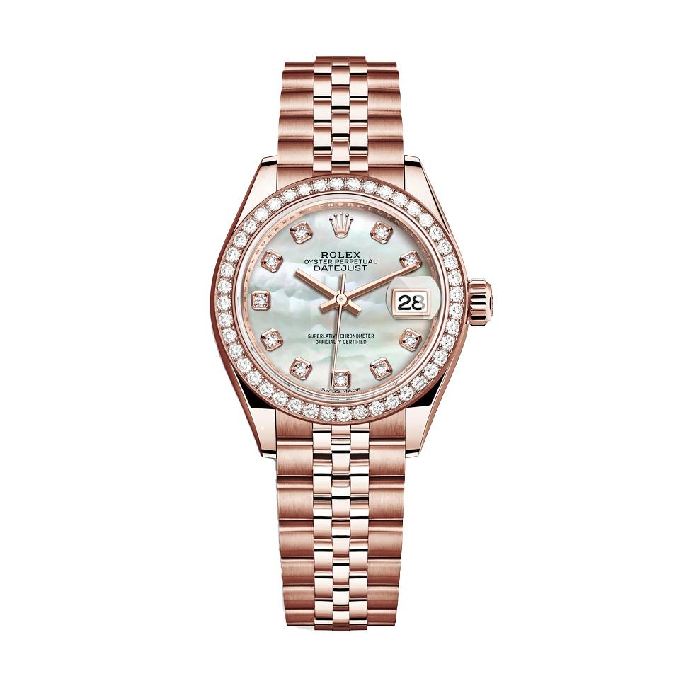 ساعت مچی عقربه ای زنانه مدل دیت جاست کد HC2073