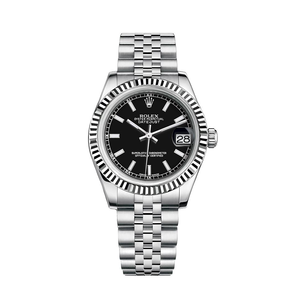 ساعت مچی عقربه ای زنانه مدل دیت جاست کد HC2075