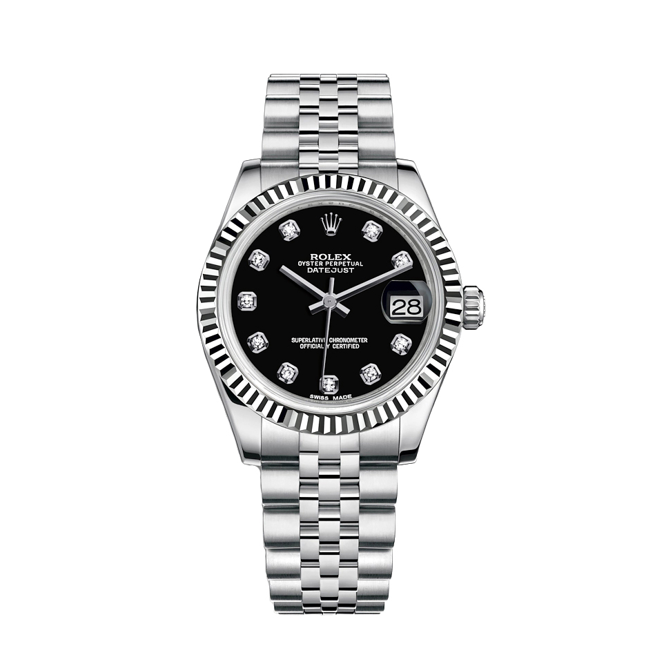 ساعت مچی عقربه ای زنانه مدل دیت جاست کد HC2079
