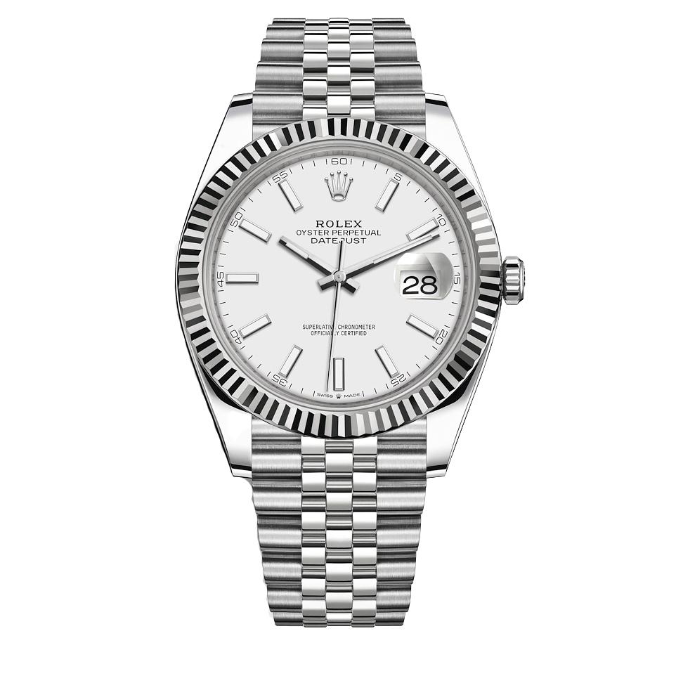 ساعت مچی عقربه ای مردانه مدل دیت جاست کد HC2087