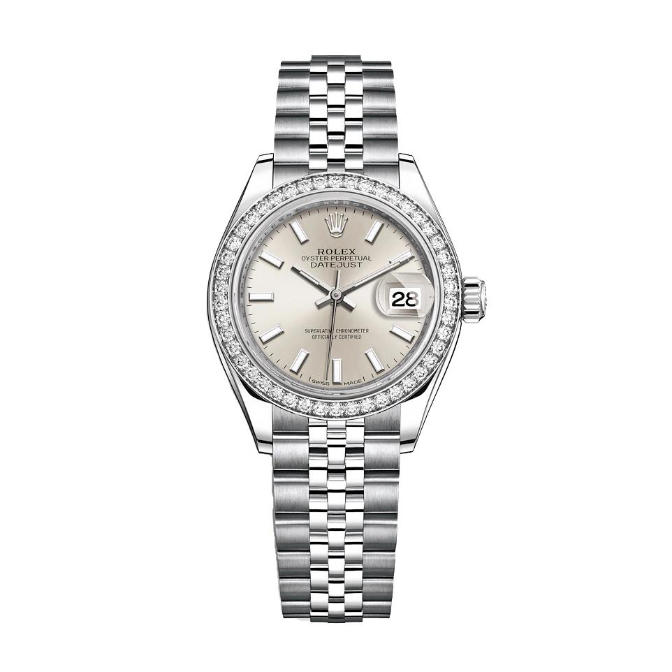 ساعت مچی عقربه ای زنانه مدل دیت جاست کد HC2096