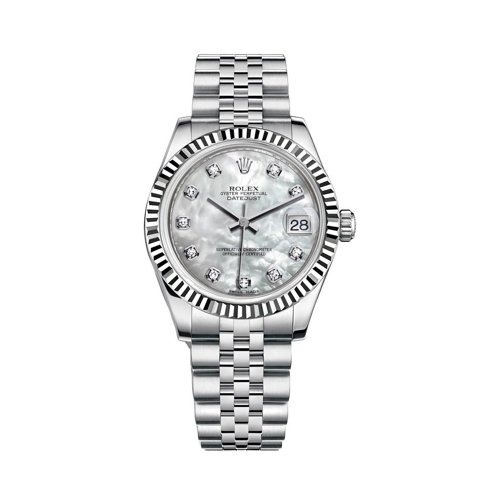 ساعت مچی عقربه ای زنانه مدل دیت جاست کد HC2099