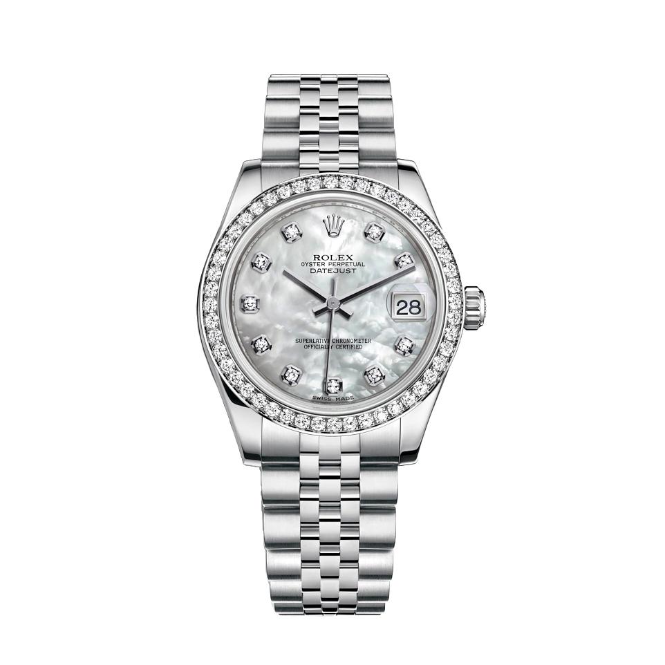 ساعت مچی عقربه ای زنانه مدل دیت جاست کد HC2100