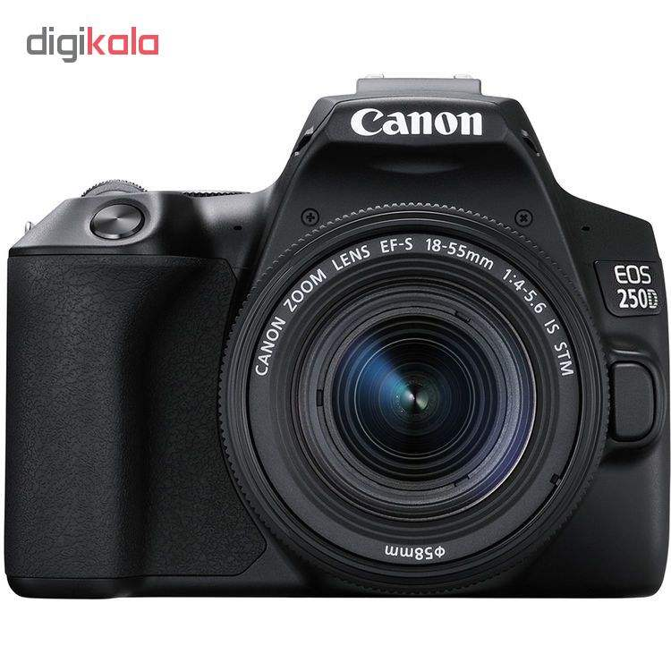 دوربین دیجیتال کانن مدل EOS 250D به همراه لنز 55-18 میلی متر IS STM main 1 1