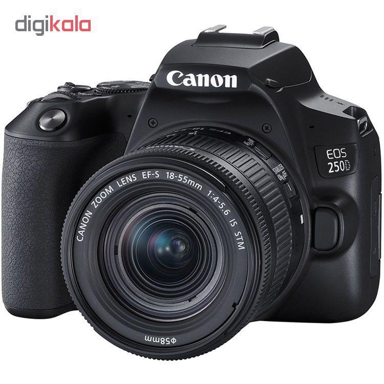 دوربین دیجیتال کانن مدل EOS 250D به همراه لنز 55-18 میلی متر IS STM main 1 2
