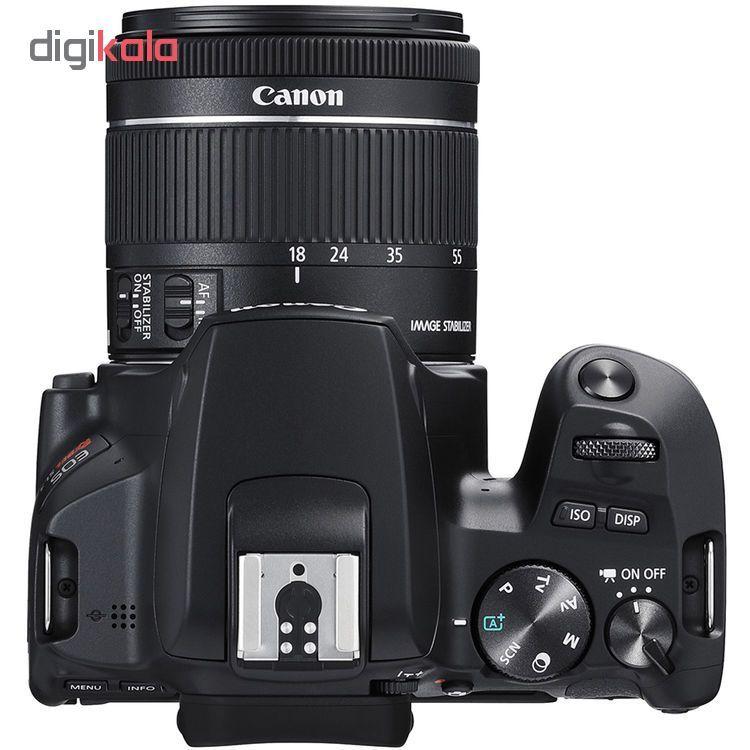 دوربین دیجیتال کانن مدل EOS 250D به همراه لنز 55-18 میلی متر IS STM main 1 4