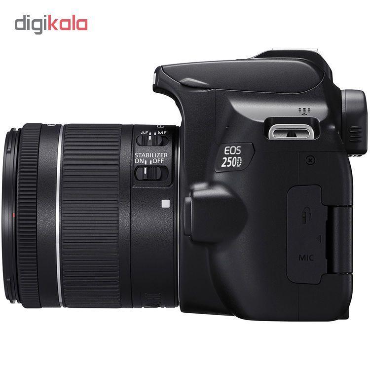 دوربین دیجیتال کانن مدل EOS 250D به همراه لنز 55-18 میلی متر IS STM main 1 5