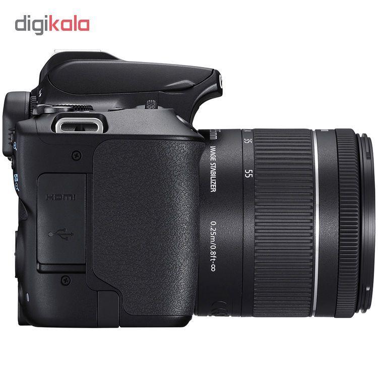 دوربین دیجیتال کانن مدل EOS 250D به همراه لنز 55-18 میلی متر IS STM main 1 6