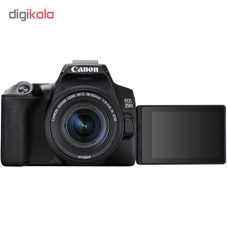 دوربین دیجیتال کانن مدل EOS 250D به همراه لنز 55-18 میلی متر IS STM main 1 8