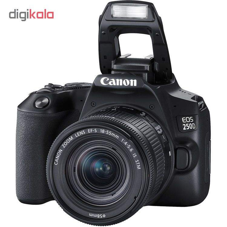 دوربین دیجیتال کانن مدل EOS 250D به همراه لنز 55-18 میلی متر IS STM main 1 9