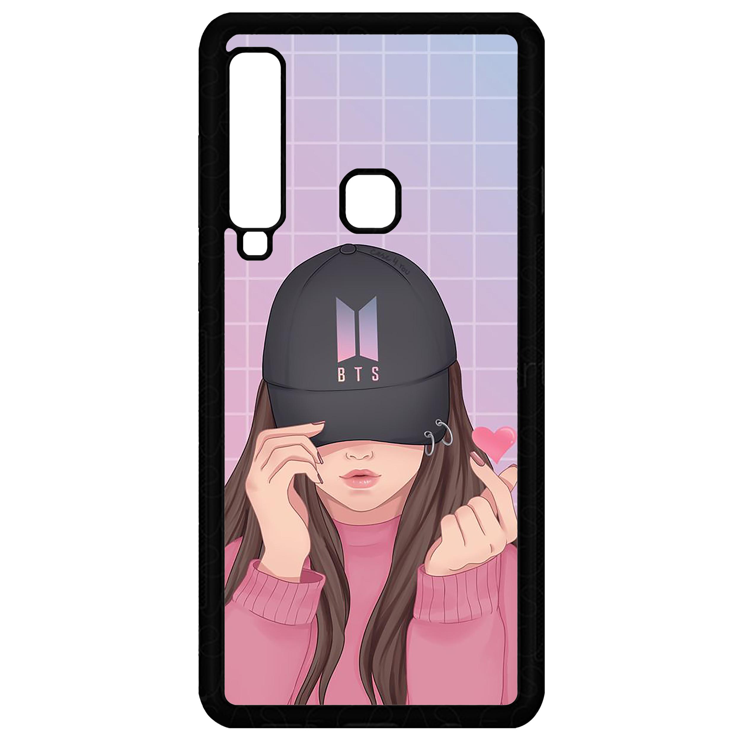 کاور طرح BTS مدل CHL50002 مناسب برای گوشی موبایل سامسونگ Galaxy A9 2018