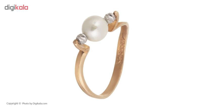 انگشتر طلا 18 عیار زنانه کانیار گالری کد AG831