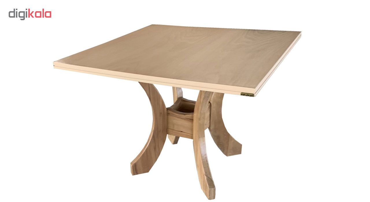میز ناهارخوری اسپرسان چوب کد ML14