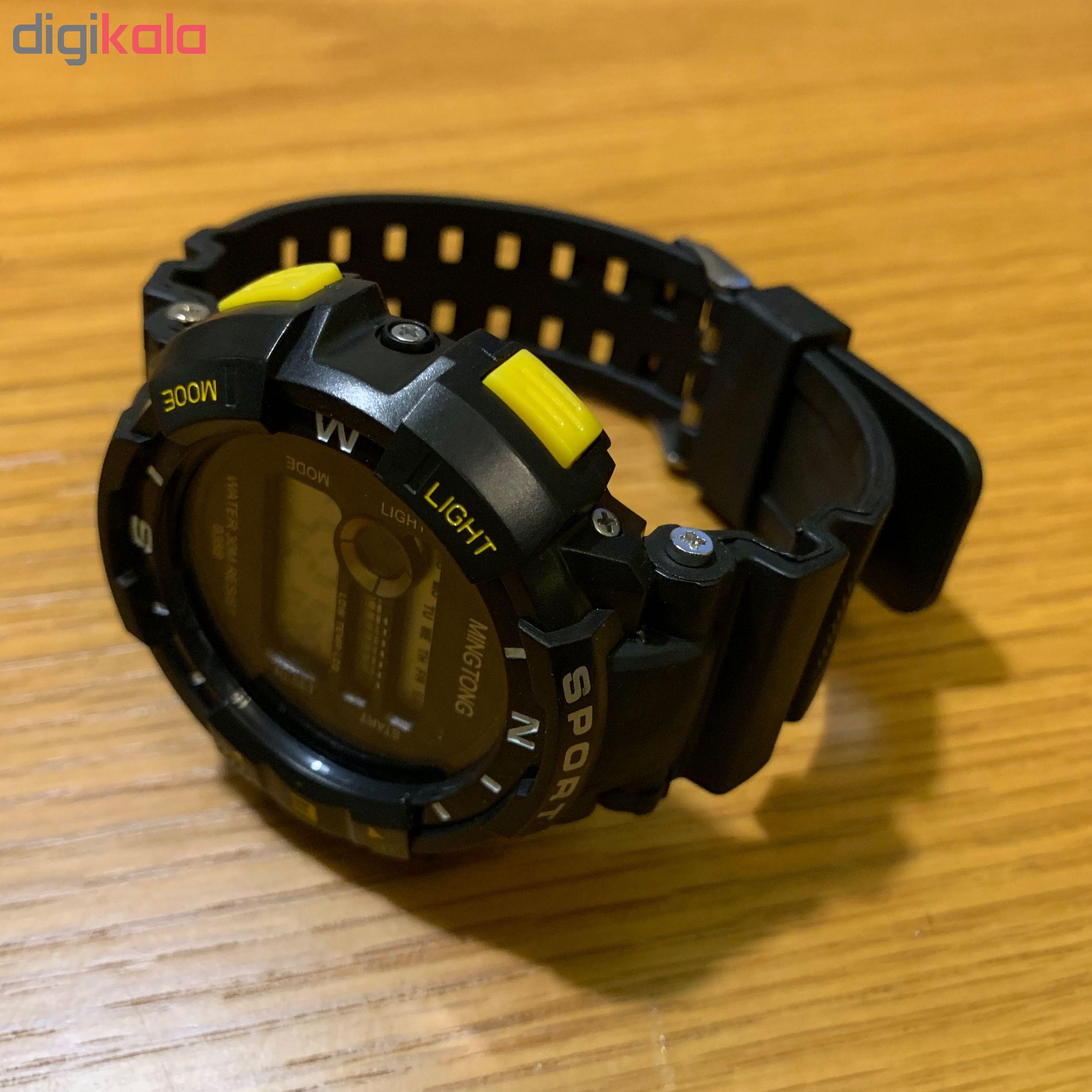 ساعت مچی دیجیتال مردانه مینگ تانگ کد B16             قیمت