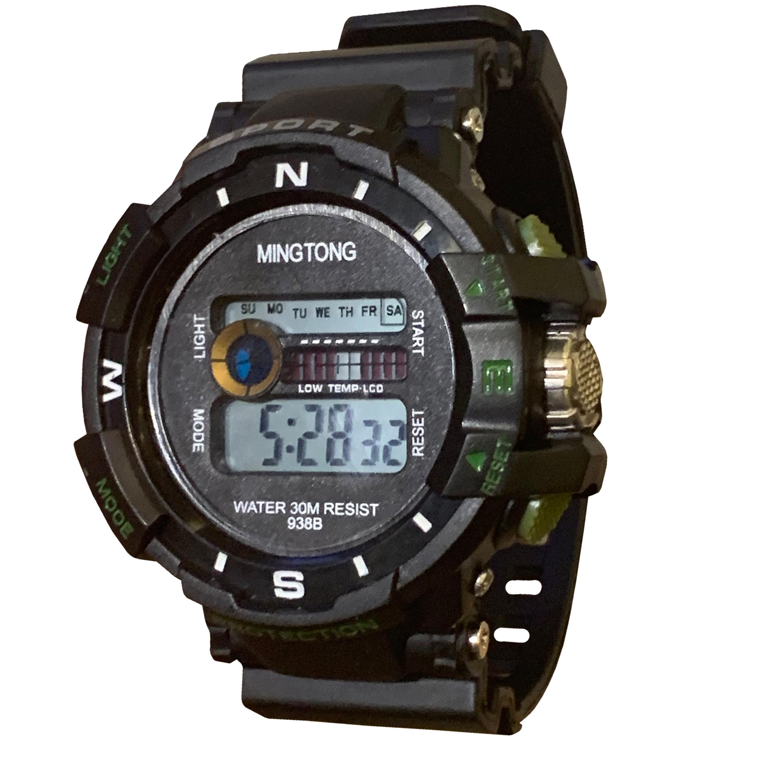 کد تخفیف                                      ساعت مچی دیجیتال مردانه مینگ تانگ کد B22