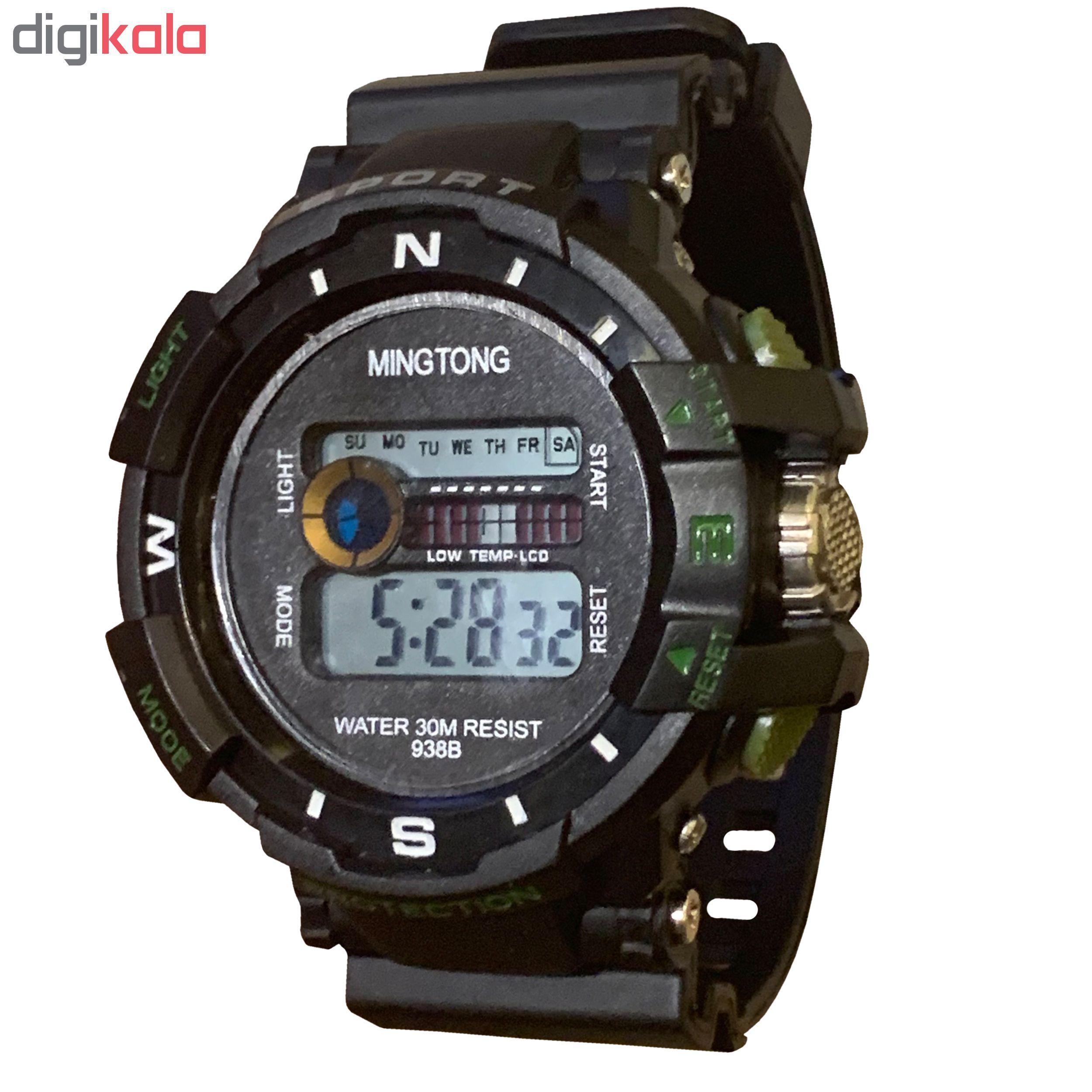 ساعت مچی دیجیتال مردانه مینگ تانگ کد B22             قیمت
