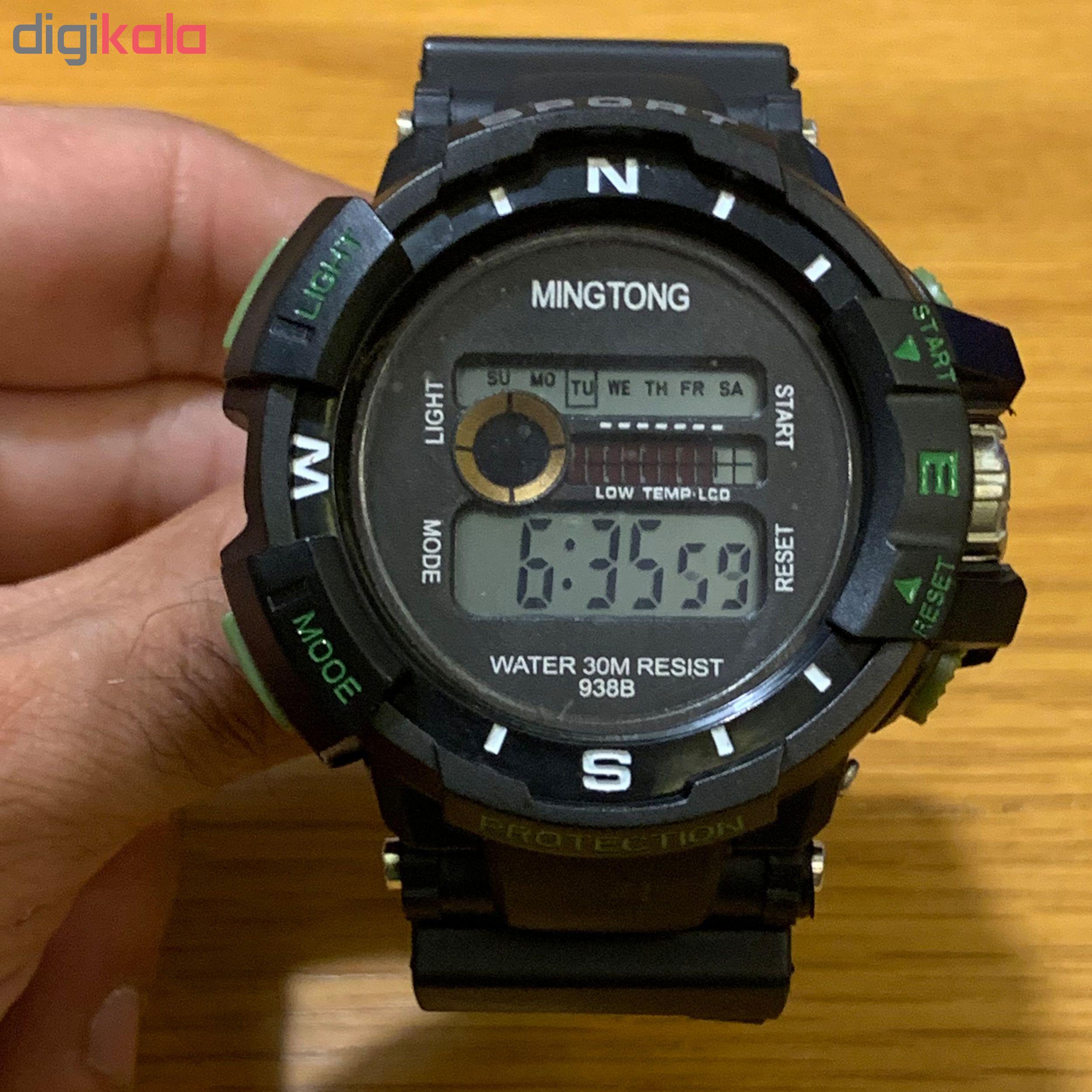 ساعت مچی دیجیتال مردانه مینگ تانگ کد B22