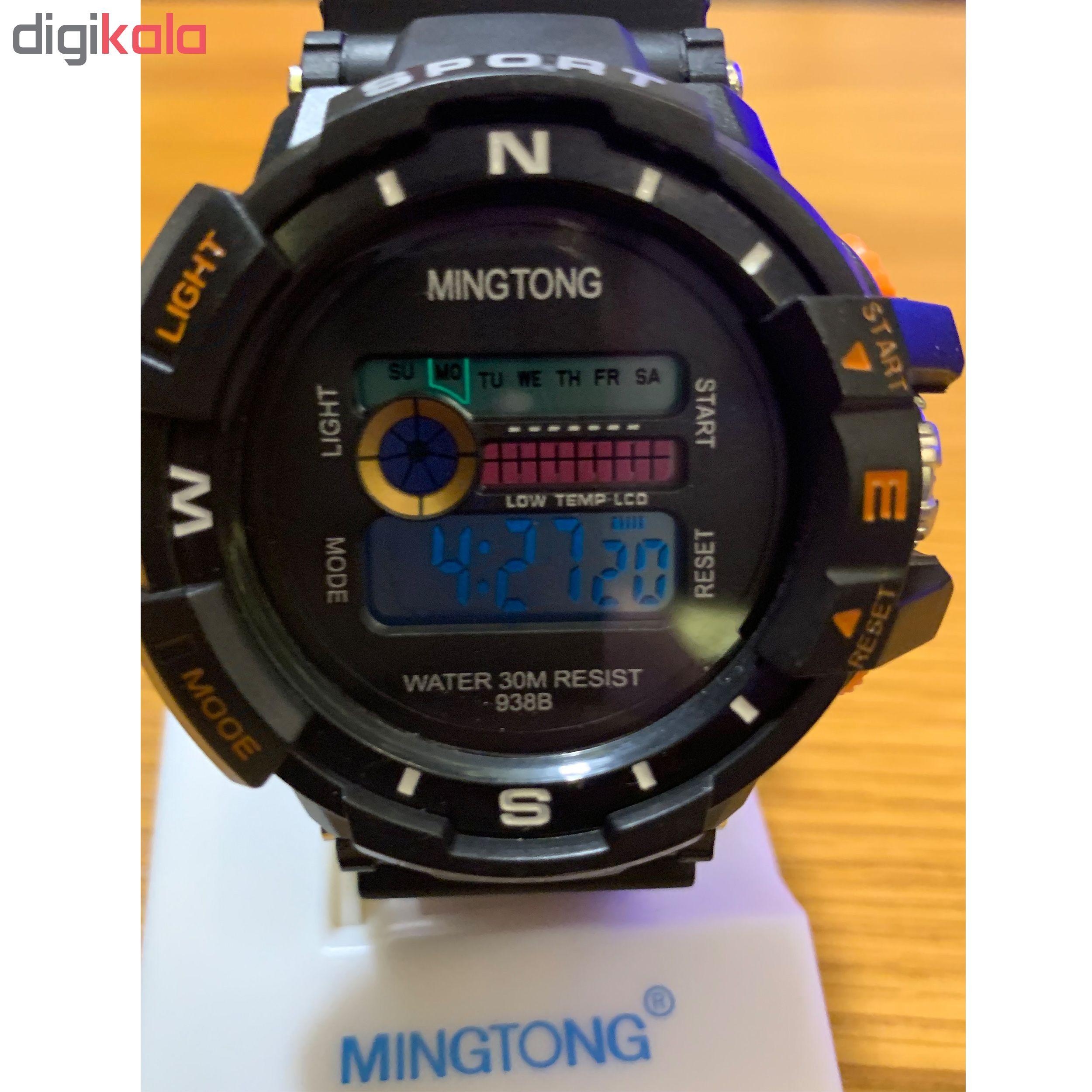 کد تخفیف                                      ساعت مچی دیجیتال مردانه مینگ تانگ کد  B23
