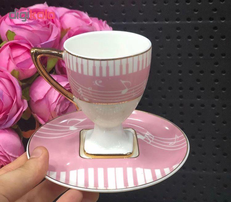 سرویس قهوه خوری 6 پارچه آجار پلاس مدل s044
