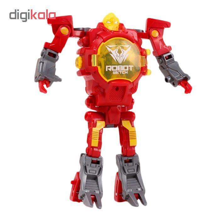 ربات ترنسفورمر طرح ساعت کد 105000163 main 1 2